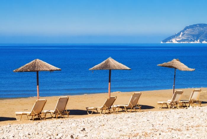 gerakas spiaggia