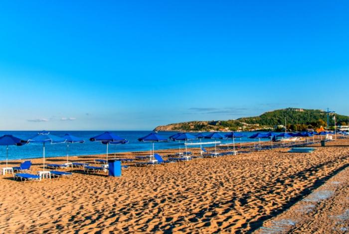 Le spiagge di Rodi: Faliraki