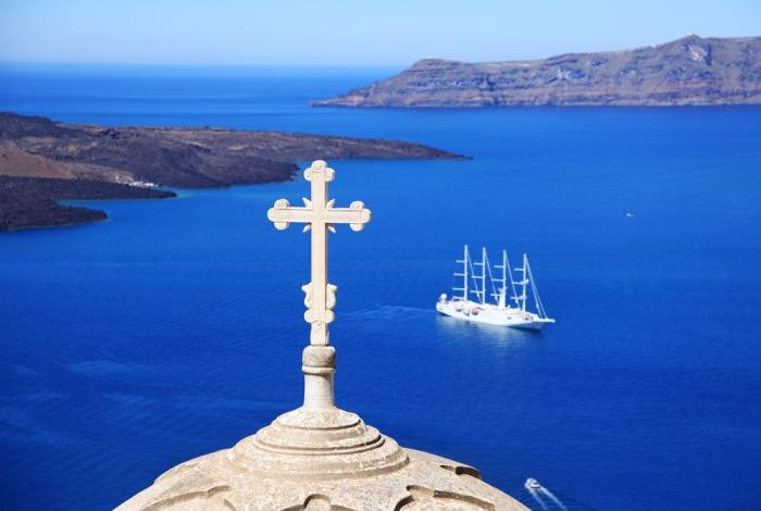 Santorini le incantevoli chiese
