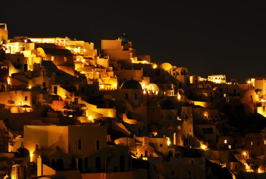 La movida Santorini