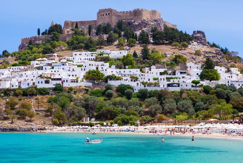 lindos grecia