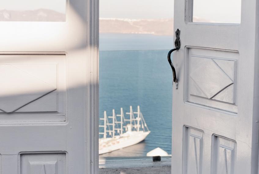 Santorini ville