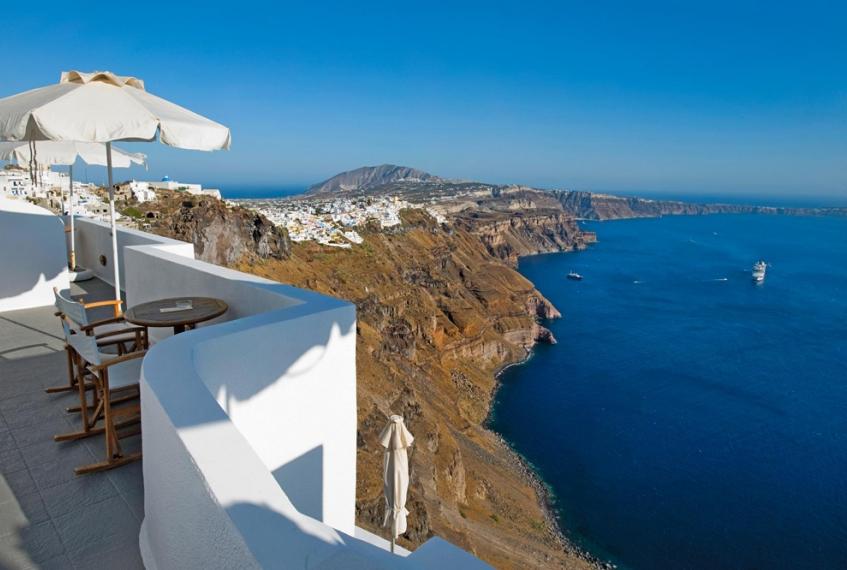 Santorini: la Caldera