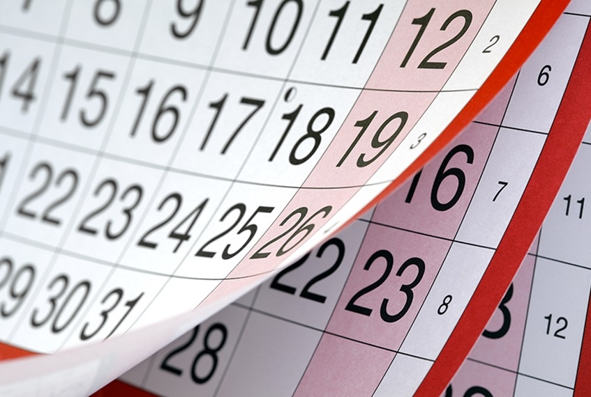 vacanza a Zante calendario