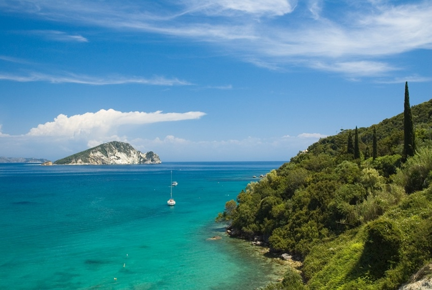 Vacanza a Zante costa orientale