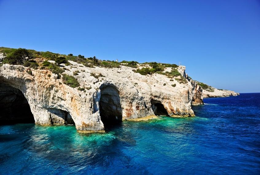Risultato immagini per Grotte Blu zante