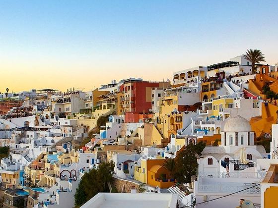 appartamenti a Santorini