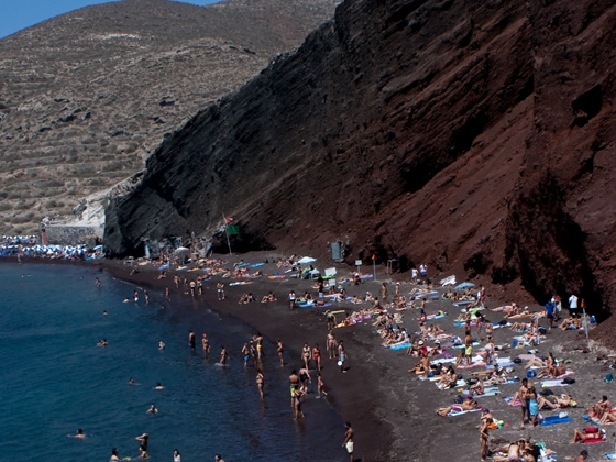 santorini le spiagge più belle