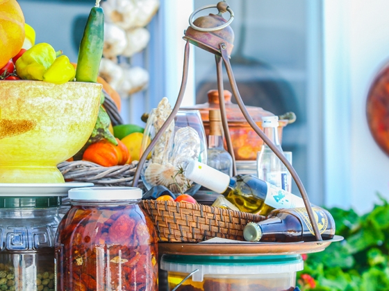 Santorini: prodotti tipici