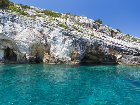 Zante Blue Caves